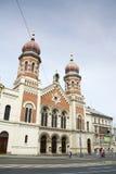 Μεγάλη συναγωγή στο Πίλζεν, Τσεχία - ο δεύτερος - μεγαλύτερη στην Ευρώπη Στοκ Εικόνες