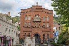 Μεγάλη συναγωγή στο Tbilisi, Γεωργία Στοκ Εικόνες
