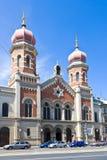 Μεγάλη συναγωγή, Plzen, Τσεχία Στοκ εικόνα με δικαίωμα ελεύθερης χρήσης