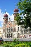 Μεγάλη συναγωγή, Plzen, Τσεχία Στοκ Εικόνες