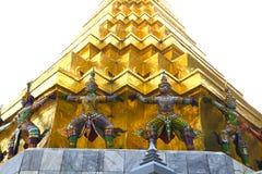 Μεγάλη τέχνη της Ταϊλάνδης παλατιών bankok της ειρήνης Στοκ εικόνα με δικαίωμα ελεύθερης χρήσης