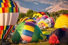 Μεγάλη φυλή μπαλονιών Reno Στοκ φωτογραφίες με δικαίωμα ελεύθερης χρήσης