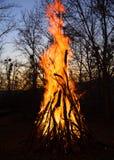 μεγάλη φωτιά Στοκ φωτογραφίες με δικαίωμα ελεύθερης χρήσης