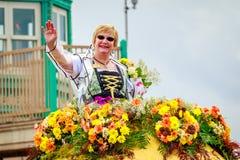 Μεγάλη Floral παρέλαση 2017 του Πόρτλαντ Στοκ Εικόνες
