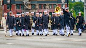 Μεγάλη Floral παρέλαση 2017 του Πόρτλαντ Στοκ φωτογραφία με δικαίωμα ελεύθερης χρήσης