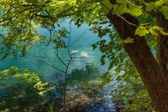 Μεγάλοι βράχοι κάτω από το νερό Κροατία Στοκ φωτογραφία με δικαίωμα ελεύθερης χρήσης