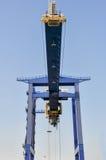 Μεγάλοι γερανοί λιμένων φορτίου θάλασσας Στοκ φωτογραφίες με δικαίωμα ελεύθερης χρήσης