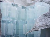 Μεγάλοι κύβοι πάγου Στοκ Φωτογραφία