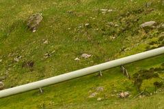 Μεγάλος άντεξε το σωλήνα για το σταθμό υδροηλεκτρικής ενέργειας Στοκ Εικόνα