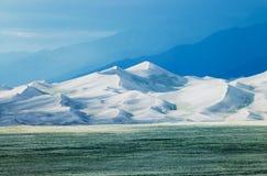 Μεγάλος αμμόλοφος άμμου Στοκ Φωτογραφίες