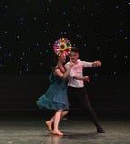Μεγάλος ανεμόμυλος-σύζυγος-σύγχρονος χορός Στοκ εικόνα με δικαίωμα ελεύθερης χρήσης