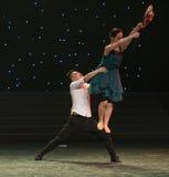 Μεγάλος ανεμόμυλος-σύζυγος-σύγχρονος χορός Στοκ φωτογραφία με δικαίωμα ελεύθερης χρήσης