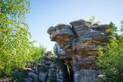 Μεγάλος βράχος με η μορφή Στοκ Εικόνα