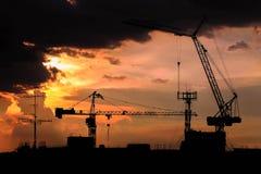 Μεγάλος γερανός Στοκ φωτογραφίες με δικαίωμα ελεύθερης χρήσης