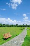 Μεγάλος δημόσιος πράσινος χώρος στοκ εικόνα με δικαίωμα ελεύθερης χρήσης