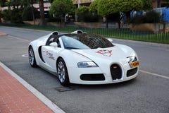 μεγάλος διεθνής αθλητισμός Ελβετία επίδειξης μηχανών της 80ης Γενεύης bugatti 4 16 veyron 4 μεγάλος αθλητισμός στοκ εικόνα