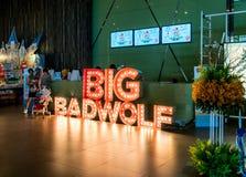 Μεγάλος κακός λύκος, οι μεγαλύτερες πωλήσεις βιβλίων στην Ταϊλάνδη, στις 10 Αυγούστου 2017: Στοκ Φωτογραφία