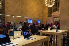 Μεγάλος κεντρικός σταθμός φραγμών μεγαλοφυίας της Apple Στοκ Εικόνα