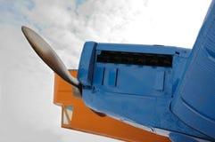 Μεγάλος κοιτάξτε του θρυλικού παλαιού αεροπλάνου Στοκ Εικόνα