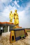 Μεγάλος μοναχός Khoon και ο Βούδας Στοκ Εικόνες