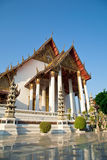 Μεγάλος ναός σε Wat Suthat, Μπανγκόκ Ταϊλάνδη Στοκ Φωτογραφία