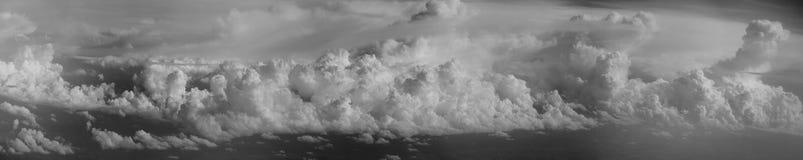 Μεγάλος πανοραμικός ουρανός Στοκ Εικόνες
