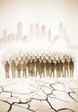 Μεγάλος πληθυσμός της γης στοκ φωτογραφία