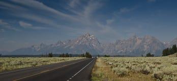 Μεγάλος δρόμος πάρκων Teton εθνικός Στοκ Εικόνες