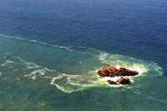 Μεγάλος σχηματισμός βράχου Cabo DA Roca, Κασκάις, Πορτογαλία Στοκ Εικόνες