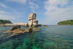 Μεγάλος σωρός αψίδων πετρών κάτω από το φως ήλιων Στοκ Εικόνες