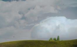 μεγάλος σύννεφων Στοκ Εικόνες