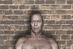 Μεγάλος τρομακτικός σκληρός άνδρας Στοκ φωτογραφία με δικαίωμα ελεύθερης χρήσης