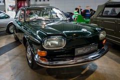 Μεγάλος τύπος του Volkswagen οικογενειακών αυτοκινήτων 4 411L, 1969 Στοκ φωτογραφίες με δικαίωμα ελεύθερης χρήσης
