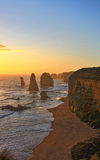 12 μεγάλος ωκεάνιος δρόμος Αυστραλία αποστόλων Στοκ φωτογραφία με δικαίωμα ελεύθερης χρήσης