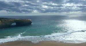Μεγάλος ωκεάνιος δρόμος, Βικτώρια, Αυστραλία στοκ εικόνες με δικαίωμα ελεύθερης χρήσης