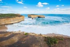 μεγάλος ωκεάνιος δρόμος της Αυστραλίας 12 αποστόλων Στοκ φωτογραφίες με δικαίωμα ελεύθερης χρήσης