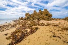 Μεγάλος ωκεάνιος δρόμος: Anglesea Βικτώρια Στοκ Εικόνες
