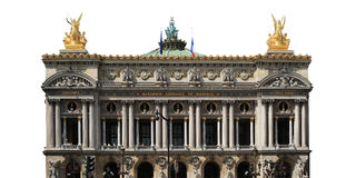 Μεγάλος-όπερα στο Παρίσι, Γαλλία Στοκ εικόνα με δικαίωμα ελεύθερης χρήσης