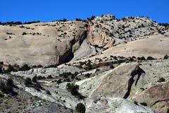 Μεγάλος λόφος βράχου Στοκ φωτογραφία με δικαίωμα ελεύθερης χρήσης