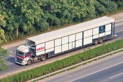 Μεγάλου μεγέθους μεταφορέας αυτοκινήτων της Mercedes-Benz, Πεκίνο, Κίνα Στοκ Εικόνα
