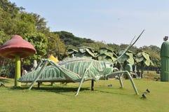 Μεγάλο άγαλμα εντόμων στον κήπο NTR, Hyderabad στοκ εικόνες