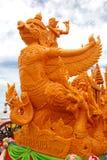 Μεγάλο άγαλμα κεριών. Στοκ φωτογραφία με δικαίωμα ελεύθερης χρήσης