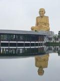 Μεγάλο άγαλμα μοναχών Στοκ Φωτογραφία