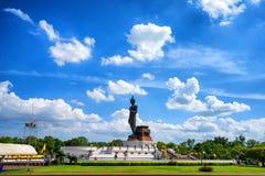 Μεγάλο άγαλμα του Βούδα στο phutthamonthon, Nakhon Pathom, Ταϊλάνδη Στοκ Φωτογραφίες