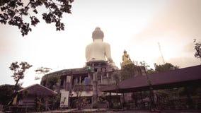 Μεγάλο άγαλμα του Βούδα, Phuket Ταϊλάνδη 4K απόθεμα βίντεο