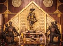 Μεγάλο άγαλμα Taksin βασιλιάδων στοκ εικόνες