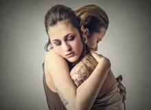 μεγάλο αγκάλιασμα Στοκ φωτογραφία με δικαίωμα ελεύθερης χρήσης