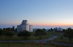 Μεγάλο αζιμούθιο τηλεσκοπίων BTA σε Arkhyz Στοκ φωτογραφία με δικαίωμα ελεύθερης χρήσης