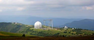Μεγάλο αζιμούθιο τηλεσκοπίων BTA σε Arkhyz Στοκ φωτογραφίες με δικαίωμα ελεύθερης χρήσης