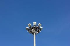 Μεγάλο αθλητικό φως Στοκ εικόνα με δικαίωμα ελεύθερης χρήσης